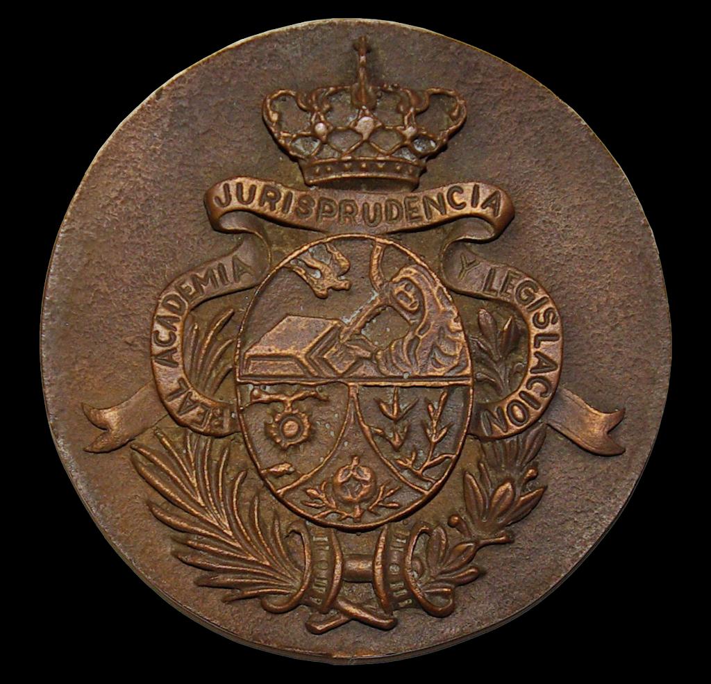 Escudo de la Real Academia de Jurisprudencia y Legislación de Granada