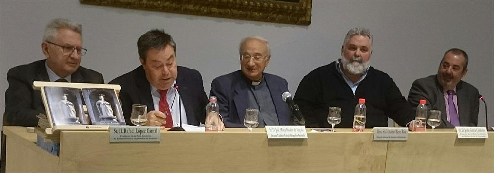 """Foto de la presentación de """"San Ivo en Granada"""""""
