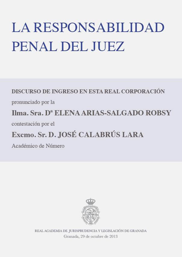 Discurso de Ingreso de Elena Arias-Salgado Robsy