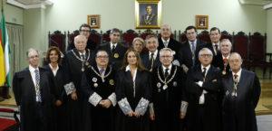 Recepción de la Ilma. Sra. Dª. Belén López Espada como Académica Correspondiente. Foto de familia.