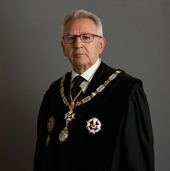 Excmo. Sr. D. Rafael López Cantal, Académico de Número