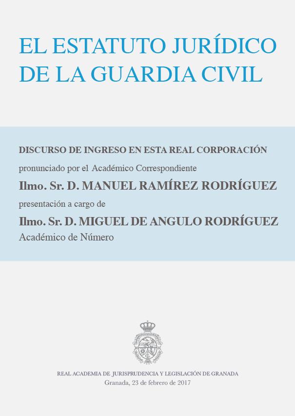 Discurso de Ingreso de Manuel Ramírez Rodríguez