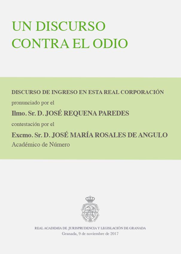 Discurso de Ingreso de José Requena Paredes