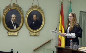 Recepción de la Ilma. Sra. Dª. Belén López Espada como Académica Correspondiente. Discurso.